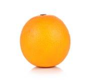 Fruta alaranjada isolada no fundo branco Imagens de Stock