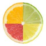 Fruta alegre, frutas mezcladas fotografía de archivo libre de regalías