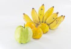 Fruta alegre, frutas mezcladas Foto de archivo libre de regalías