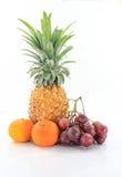 Fruta alegre, frutas misturadas fotografia de stock royalty free
