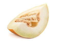 Fruta amarilla del melón Imagen de archivo libre de regalías