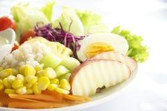 Fruta & salada dos vegetais Imagens de Stock Royalty Free