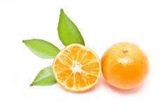 Fruta anaranjada. imagen de archivo