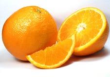 Fruta anaranjada Imágenes de archivo libres de regalías