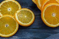 Fruta anaranjada Imagen de archivo libre de regalías