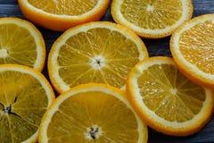 Fruta anaranjada Imagenes de archivo
