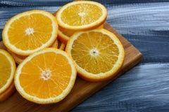Fruta anaranjada Imagen de archivo