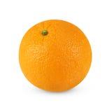 Fruta anaranjada aislada en blanco fotos de archivo libres de regalías