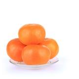 Fruta anaranjada de la fortuna en Año Nuevo chino Fotografía de archivo