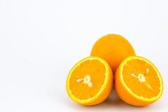 Fruta anaranjada fresca Fotografía de archivo libre de regalías