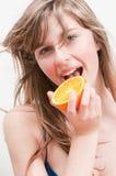Fruta anaranjada jugosa Imágenes de archivo libres de regalías