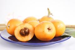 Fruta asiática Fotos de archivo libres de regalías