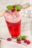 Fruta, bebida roja Imágenes de archivo libres de regalías