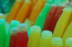 Fruta, bebidas y vitaminas Fotos de archivo libres de regalías