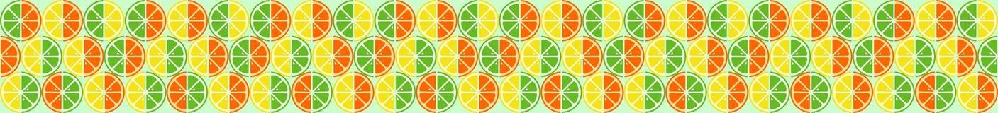 Fruta cítrica del fondo Fotografía de archivo libre de regalías