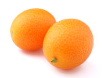 Fruta cítrica del kumquat Imagen de archivo