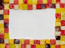 fruta c?trica, marco mezclado de la fruta fotografía de archivo libre de regalías