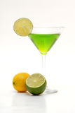 Fruta cítrica martini Fotografía de archivo