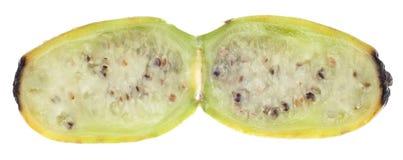 Fruta cactácea madura da pera espinhosa Fotografia de Stock Royalty Free