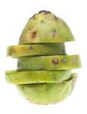 Fruta cactiforme madura de la pera espinosa Imagen de archivo libre de regalías