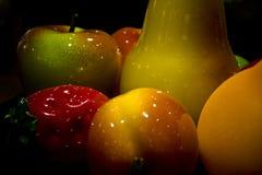 Fruta cerâmica fotografia de stock