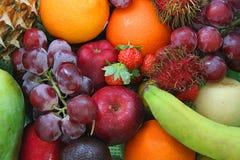 fruta, clase de fruta fresca Fotografía de archivo