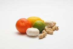 Fruta colorida Fotografia de Stock