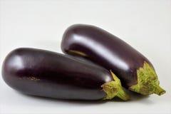 Fruta comestible de la delicadeza deliciosa de la berenjena fotografía de archivo