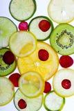 Fruta cortada Foto de archivo