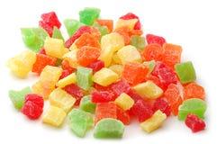 Fruta cristalizada Fotografia de Stock