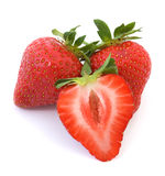 Fruta da morango Imagem de Stock