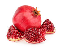 Fruta da romã Fotos de Stock Royalty Free
