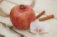 Fruta da romã Imagens de Stock Royalty Free