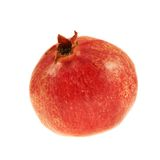 Fruta da romã isolada Foto de Stock Royalty Free