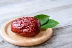 Fruta da tâmara secada Fotografia de Stock