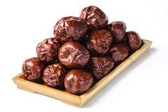 Fruta da tâmara secada Imagens de Stock Royalty Free