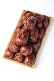 Fruta da tâmara secada Imagem de Stock