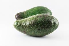 Fruta de abacate fresca no fundo branco Fotografia de Stock Royalty Free