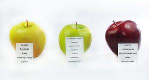 Fruta de advertência imagem de stock