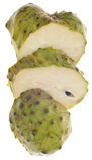Fruta de Apple de creme da cherimólia Fotografia de Stock Royalty Free