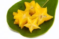 Fruta de estrela Imagem de Stock Royalty Free