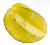 Fruta de estrela Foto de Stock