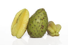 Fruta de estrela do Soursop Foto de Stock Royalty Free