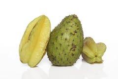 Fruta de estrela do Soursop Foto de Stock Royalty Free