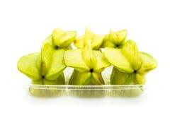 Fruta de estrella Fotografía de archivo libre de regalías