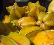 Fruta de estrella deliciosa Imágenes de archivo libres de regalías