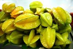 Fruta de estrella fresca Fotos de archivo