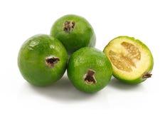 Fruta de Feijoa Imagenes de archivo