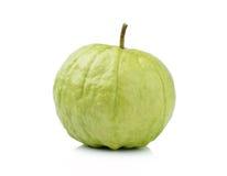 Fruta de guayaba aislada en el fondo blanco Fotos de archivo libres de regalías
