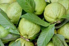 Fruta de guayaba de Apple Fotos de archivo libres de regalías